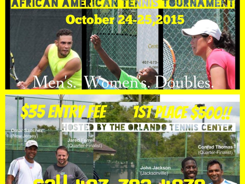 The Tennis Plaza 2nd Annual African American Tennis Tournament