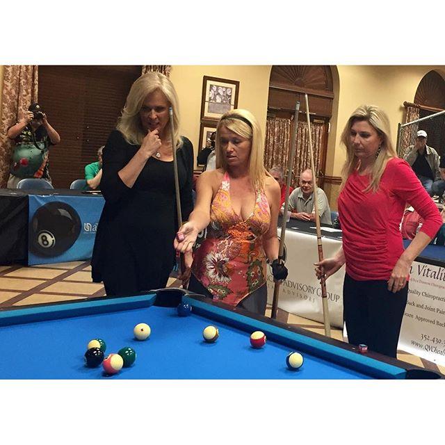 Did the whole world turn #blonde_ FloridaBilliardsExpo