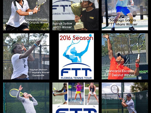 DRAW for the FTT Tour Championship at the Orlando Tennis Center: 1st Round Friday Dec 16th