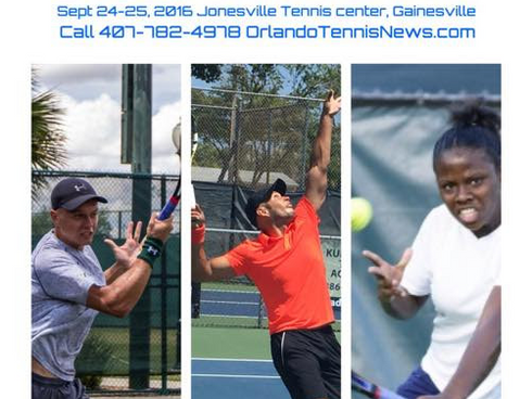 Florida Tennis Tour MASTERS Sept 24-25th: DEADLINE Sept 22: Universal Tennis Rating Event!