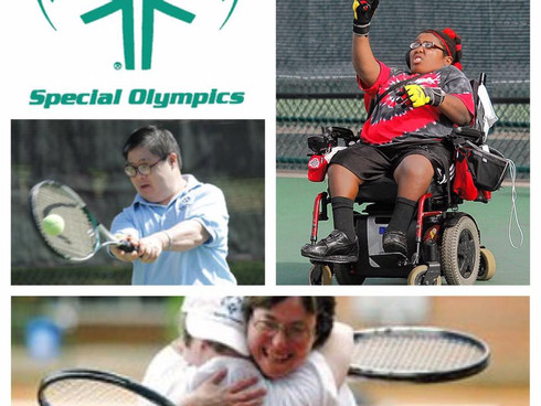 Special Olympics at Disney World May 20-21: One-On-One Doubles in Tampa May 21st