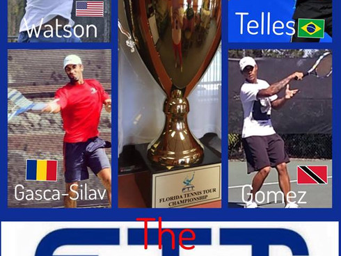 TODAY Semi-Finals USA vs ROMANIA- BRAZIL vs TRINIDAD for FTT TOUR Championship! Central FL Tennis Aw