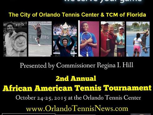 TOMORROW: Tennis Plaza 2nd Annual African American Tennis Tournament