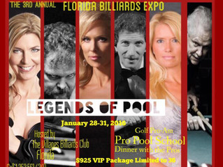 25 Year Reunion: The Legends of Pool Experience