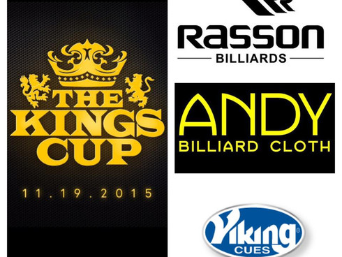 Rasson Billiards, Andy Cloth, & Viking Cue Joins Kings Cup