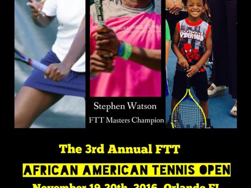 The 3rd Annual African American Tennis Open