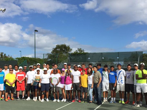 Suarez & Johnson Dominate: Record Attendance for the Tennis Plaza African American Tennis Tourny