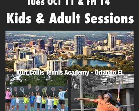 FREE TENNIS LESSONS! Kurt Collis Academy Expands to Orlando!