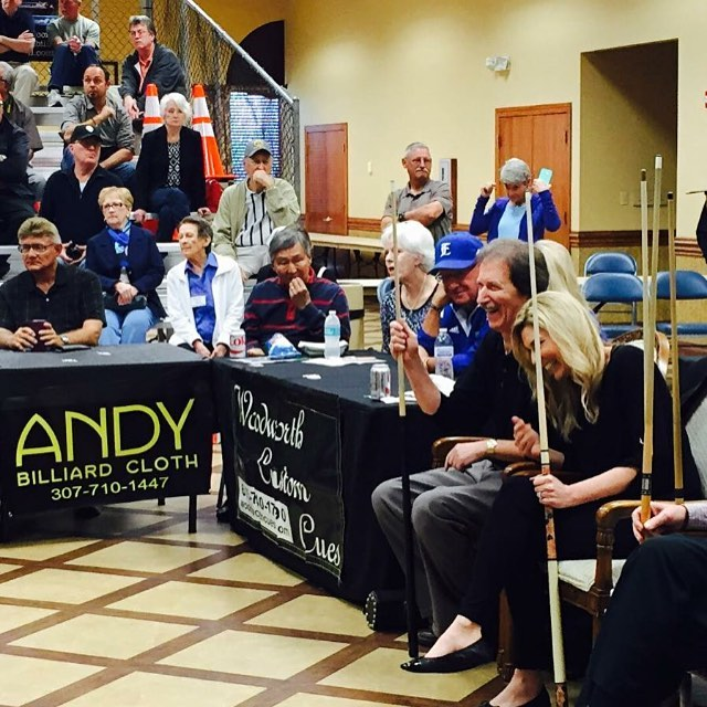 AndyClothUSA.com, the Official Cloth of the whole #FloridaBilliardsExpo, is stealing the show