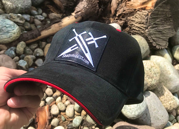 Sharpens Best Baseball Hat with Embroidered Logo