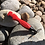 Thumbnail: Sharp-N-Spark Red Knife Sharpener Fire Starter Combo