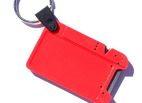 """ULTIMATE Square 2-in-1 Pocket Knife Sharpener with """"V"""" Notch"""