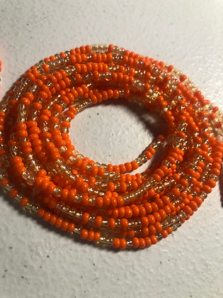 Opaque & Sparkly: Orange