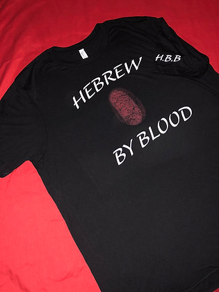 Hebrew By Blood Signature T-Shirt