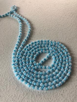 Alternating: Turquoise& Soft Blue