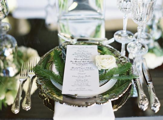 Wedding Menus with Hand Calligraphy