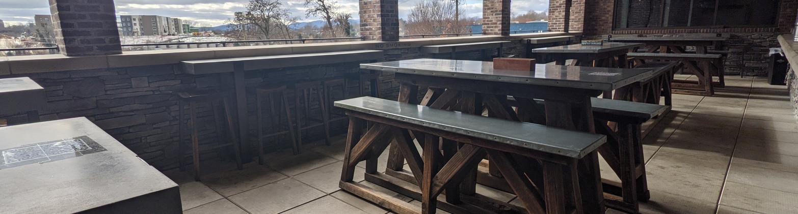 3rd Floor outdoor patio