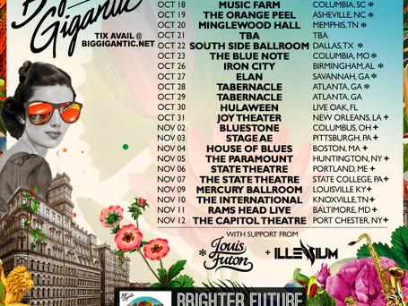 Brighter Future Fall Tour Announced!!