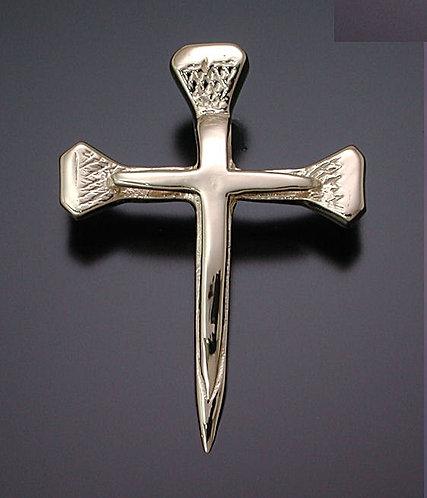 Gold Nail Cross