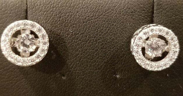 Sterling Silver Dancing Earrings