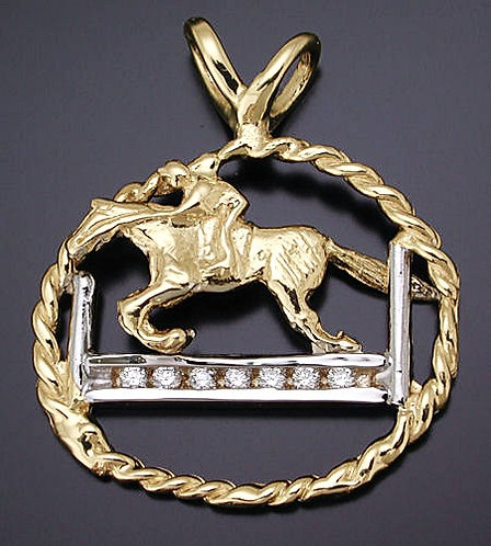Jumper Diamond Pendant