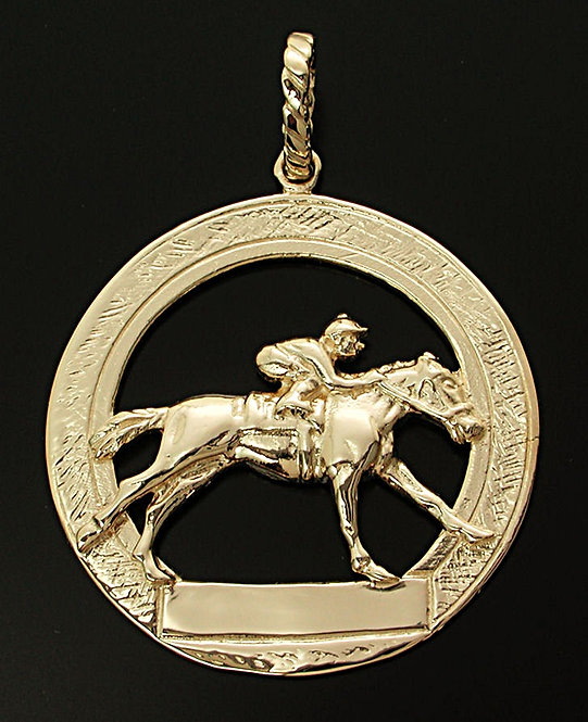 Gold Thoroughbred Coin