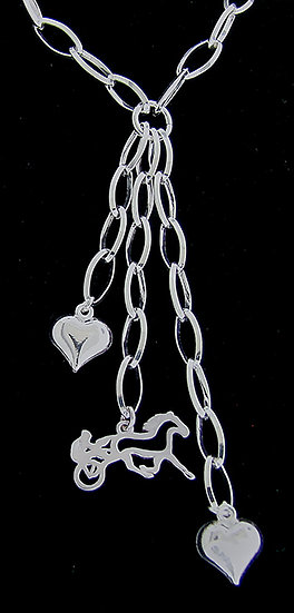 Sterling Silver Sulky Necklace