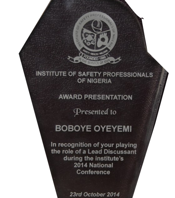 Institute of Safety Professionals of Nigeria