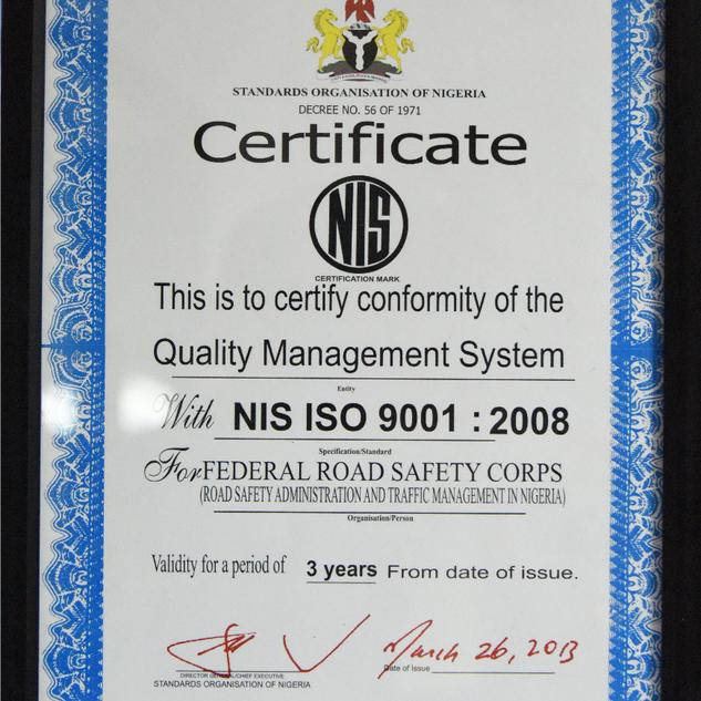 Standard Organization of Nigeria