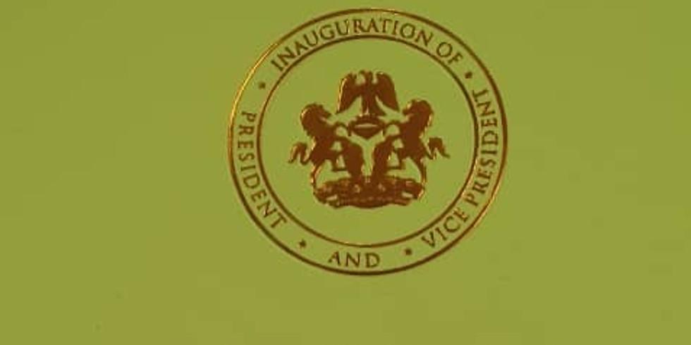 President Muhammadu Buhari GCFR and Prof. Yemi Osibanjo SAN GCON  Inauguration Banquet