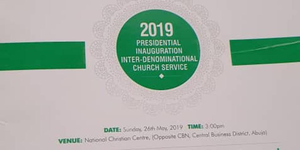 2019 Presidential Inauguration Inter-Denominational Church Service