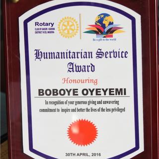 Rotary Club of Kakuri Kaduna District 9125, Nigeria