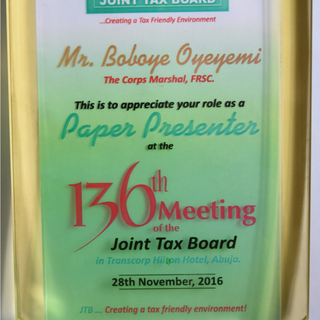 Joint Tax Board