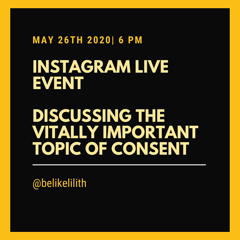 Instagram Live on Consent