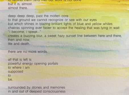 Post-Breathwork Healing Reflections + Watercolor