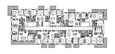 Plan projet KUBIC POINTE CLAIRE par Forme Studio Architecture