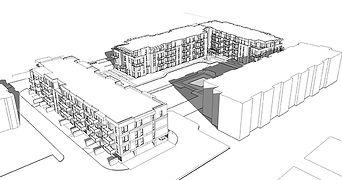 Sketchup projet AVENUE 32 par Forme Studio Architecture - Condo / Résidentiel
