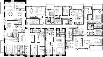 Plan projet DU PARC par Forme Studio Architecture