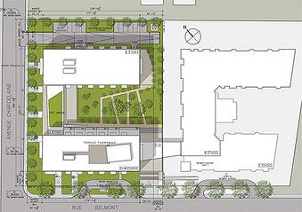 Plan JAZZ par Forme Studio Architecture