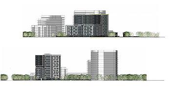 Plan Élévation MOSTRA par Forme Studio Architecture