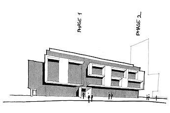 Croquis projet LUMIERE par Forme Studio Architecture - Condo / Résidentiel