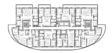 Plan projet TERRA par Forme Studio Architecture - Condo / Résidentiel