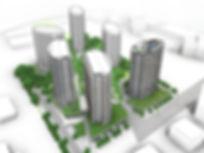 Axonometrie projet TERRA par Forme Studio Architecture - Condo / Résidentiel