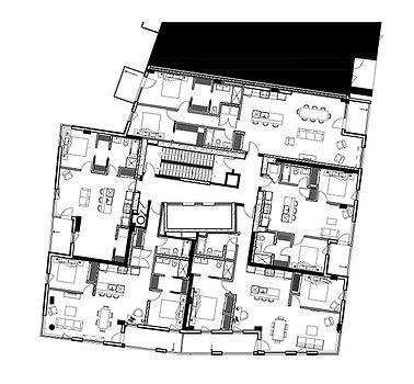 Plan projet BRICKFIELD par Forme Studio Architecture
