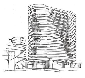 Croquis projet TERRA par Forme Studio Architecture - Condo / Résidentiel