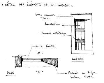 Croquis projet DU PARC par Forme Studio Architecture
