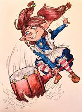 Ragdoll Poppy - Fanart
