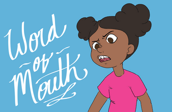 Word Of Mouth - Title Card