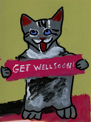 """Set of Get Well Soon Cards"" by Ruby Bradford"