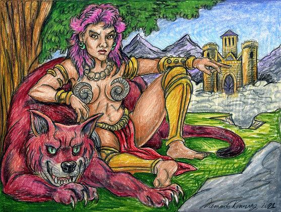 """""""Warrior Woman"""" by Fernando Ramirez"""